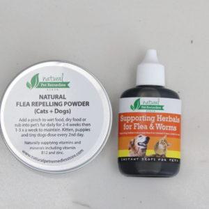 Natural Pet Remedy Flea Set