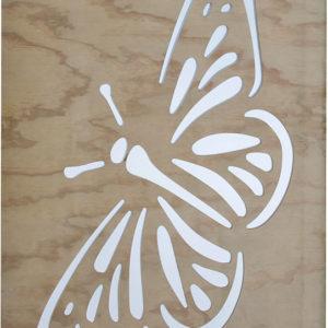 Garden screen butterfly